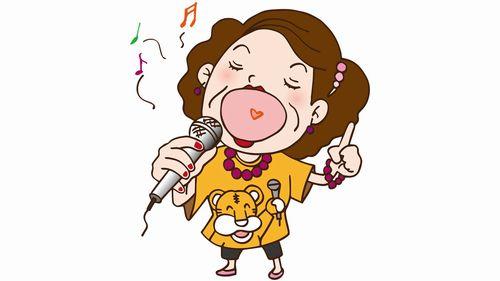 歌うおばちゃん