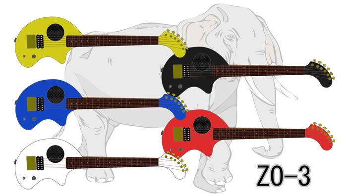 【ZO-3】アンプ内蔵ゾウさんギター「シリーズ別の特徴・選び方」